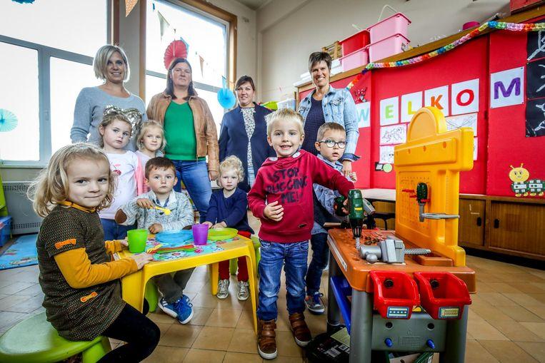 De kleuterschool beschikt nu over slechts 7 leerlingen.