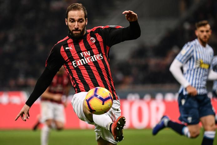 Gonzalo Higuain wordt momenteel door Juventus verhuurd aan AC Milan.