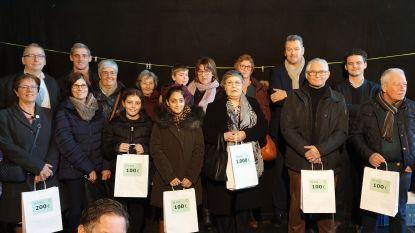 Winkeldorp Beveren verdeelt 21.600 euro en schenkt meer dan 2.000 euro aan goede doel