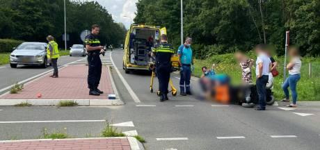 Scootmobiel aangereden door auto bij Ubbergen