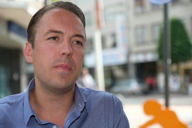 Sam Van Rooy (Vlaams Belang). Hij volgt in januari Filip Dewinter op als fractieleider. Beeld Laenen