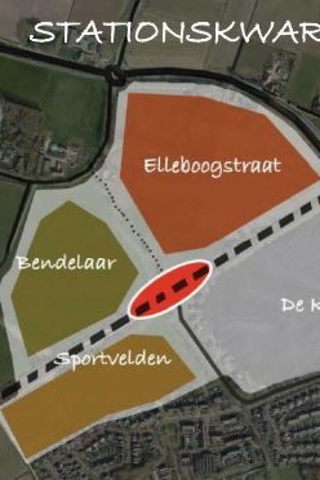 Ravenstein groeit enorm met 370 woningen in nieuwe wijk rondom het treinstation