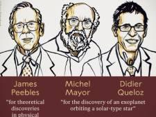 Nobel de physique: un Canado-Américain et deux Suisses récompensés pour leurs travaux en cosmologie et astrophysique