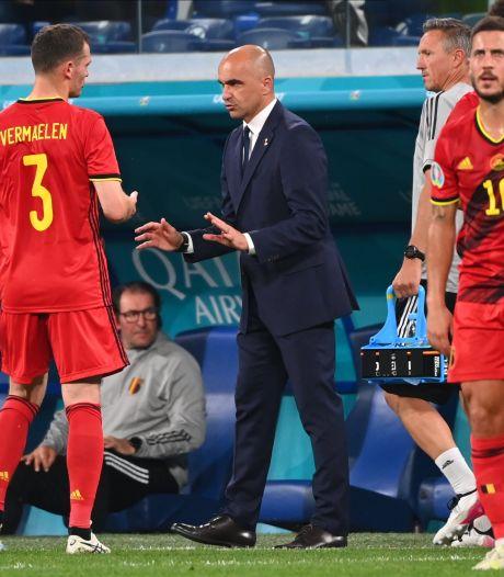 """Roberto Martinez dresse un premier bilan: """"Le seul point négatif, la blessure de Castagne"""""""