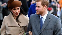 Harry en Meghan vieren Kerstmis dit jaar niet met de Queen en de andere royals