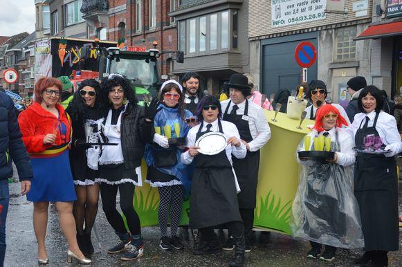 Carnavalisten lachen met de afgelaste nieuwjaarsreceptie.