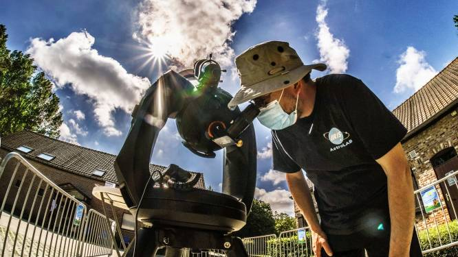 """Zoneclips te bewonderen door telescoop AstroLAB IRIS: """"Wie een volledige verduistering wil zien, moet naar Groenland"""""""