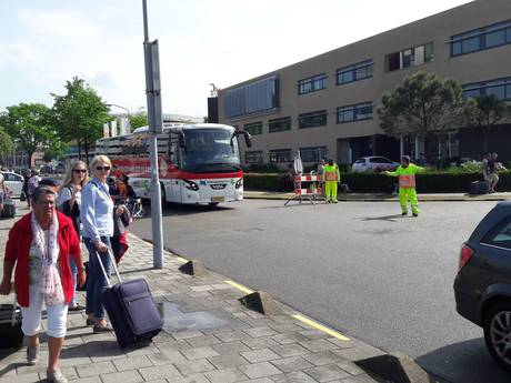 Hinder op Eindhoven Airport na instorten parkeergarage