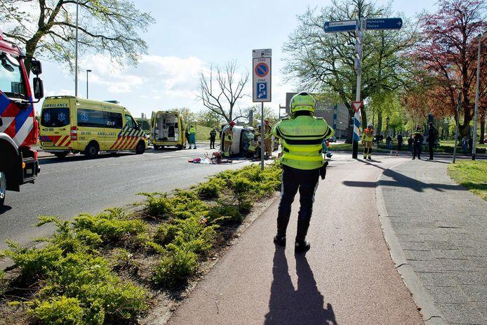 Ernstig ongeluk in Bergen op Zoom.