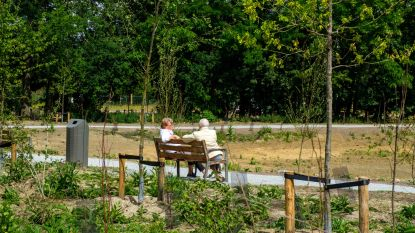 FOTOREEKS. Zo ziet nieuwe Park Brialmont in Berchem eruit