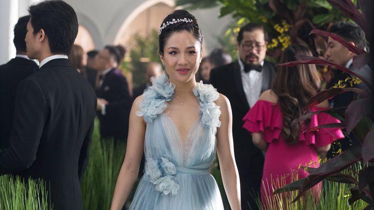 Constance Wu in 'Crazy Rich Asians' Beeld TMDB