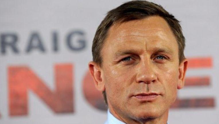 Daniel Craig vertolkte de afgelopen twee films de rol van James Bond. ANP Beeld