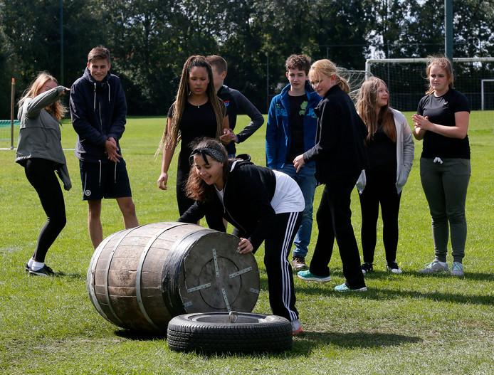 De Highland Games in Leerdam, vorig jaar.