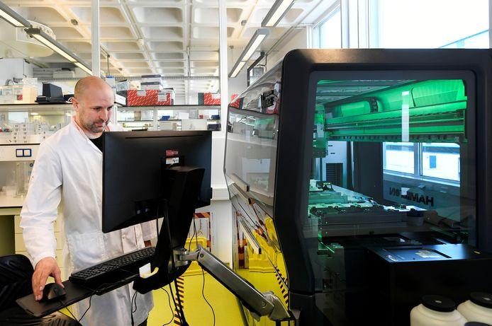 Het lab van Sanquin in Amsterdam
