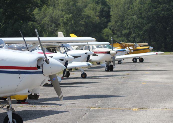 De club heeft vandaag een tachtigtal vliegende leden.