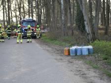 Drugsafval gedumpt langs Zevenheuvelenweg