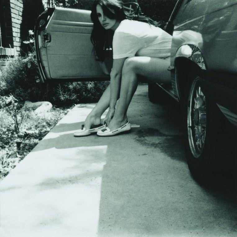 De melancholische loner Lana Del Rey. Beeld kos