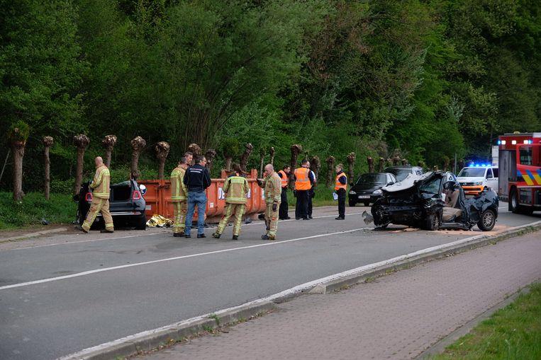 Het parket kwam ter plaatse om het ongeval te onderzoeken.