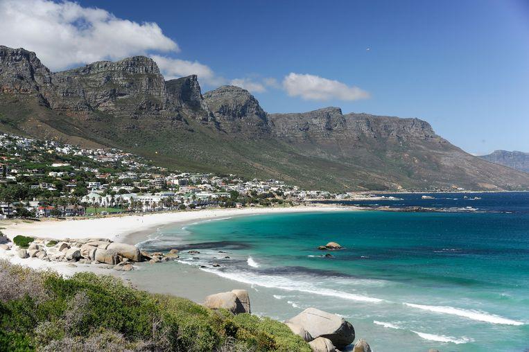 Het Twaalf Apostelen-gebergte ten zuiden van Kaapstad. Beeld Alamy