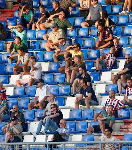 Bij Willem II mogen weer fans in het stadion, Martin van Geel: 'Mooi en belangrijk'