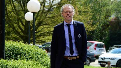 Preud'homme ontsnapt aan schorsing en zit zondag gewoon op de bank voor clash in Anderlecht