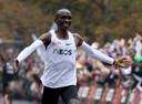 Ook wereldrecordhouder op de marathon Eliud Kipchoge is van de partij.