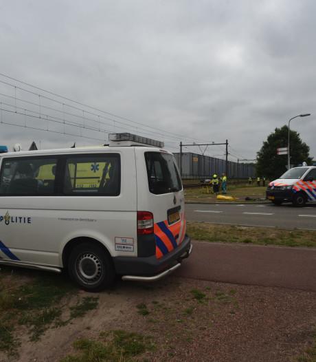 Dodelijke aanrijding tussen trein en brommerrijder: treinverkeer komt weer op gang