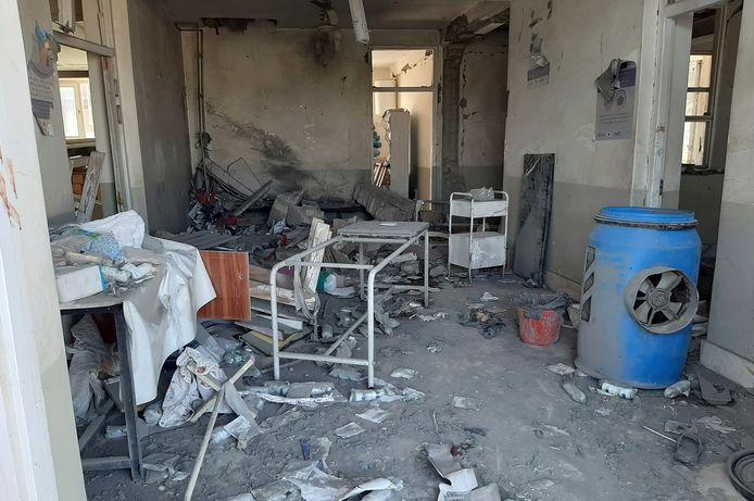 Delen van de provincie Helmand, ten zuiden van Kaboel, liggen in puin na zware gevechten tussen de taliban en de regeringstroepen.