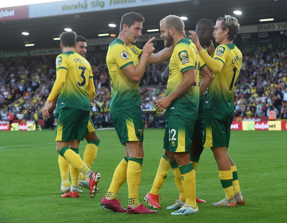 Norwich City won verrassend van Manchester City.