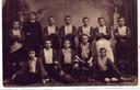 De oudste elftalfoto van de 120-jarige voetbalclub Phenix in Enschede. Deze is gemaakt in het oprichtingsjaar 1901.