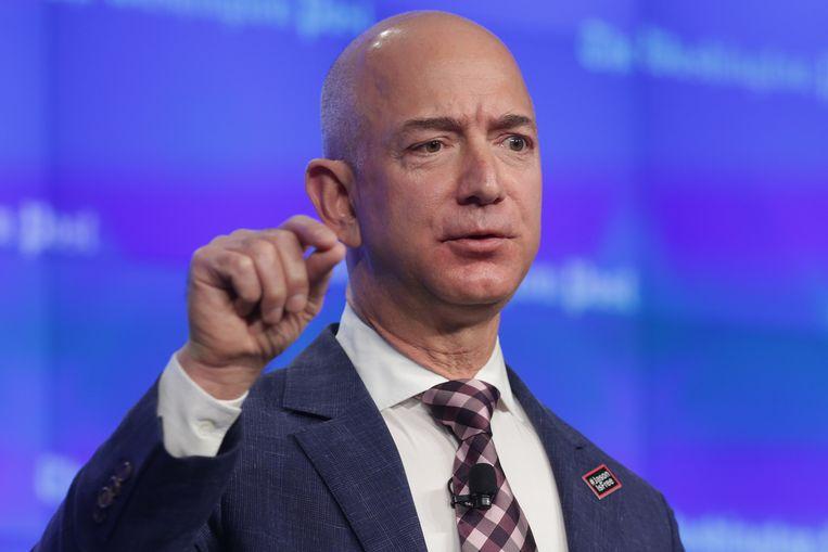 Jeff Bezos, oprichter en CEO van Amazon
