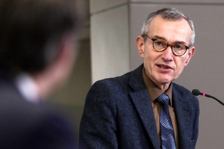 Minister van Volksgezondheid Frank Vandenbroucke. Beeld EPA