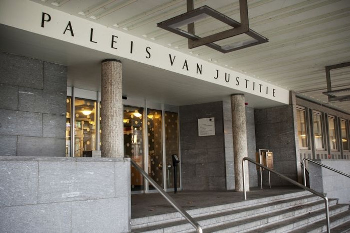 Het Paleis van Justitie in Arnhem.