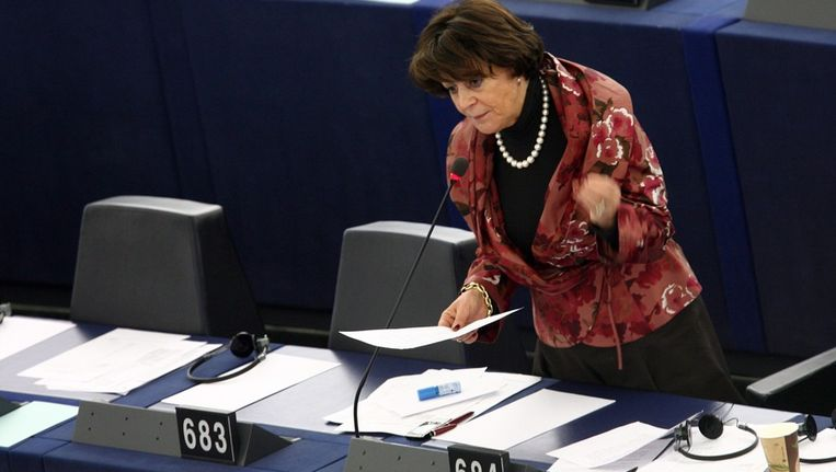 Ria Oomen-Ruijten in februari 2010. Beeld epa