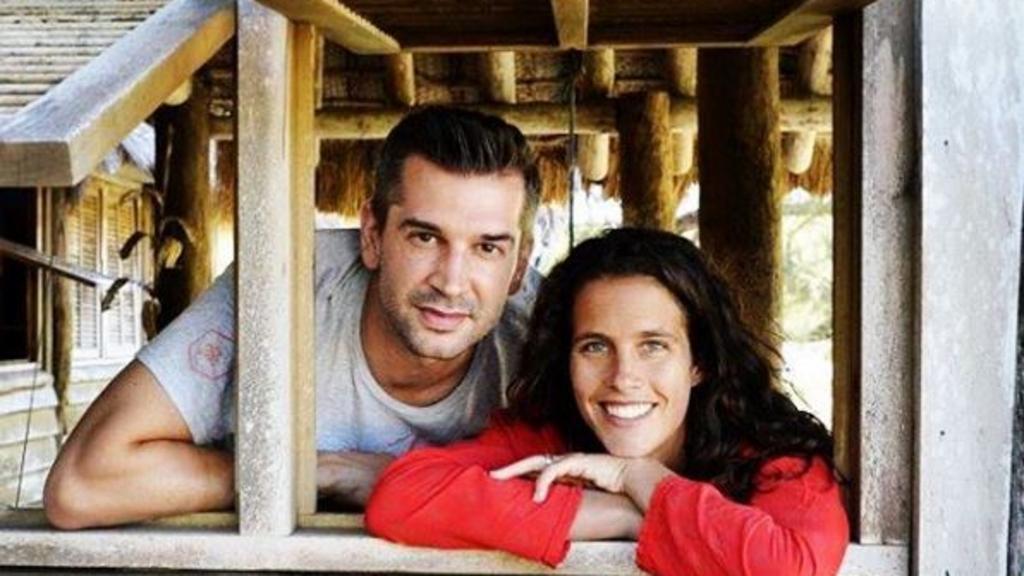 Clémence Castel et Mathieu Johann