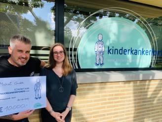 Verjaardagsfeest dj Michiel Cnudde levert 10.000 euro op voor Kinderkankerfonds