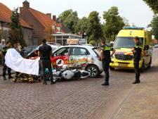 Motorrijder gewond door ongeluk in Middelbeers