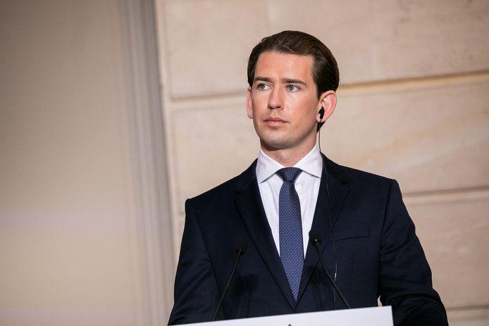 Sebastian Kurz, chancelier fédéral d'Autriche