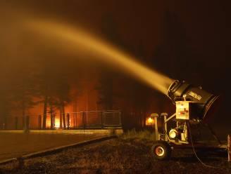 Californisch skigebied zet sneeuwmachines in bij bestrijding bosbranden