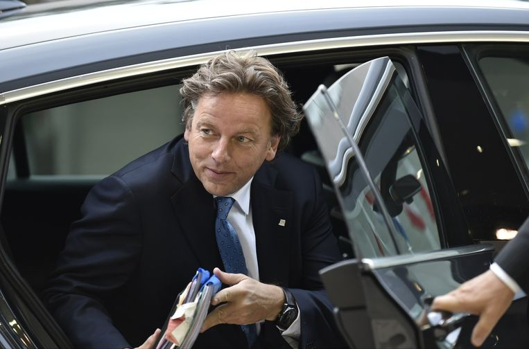 Minister Bert Koenders van Buitenlandse Zaken. Beeld AFP