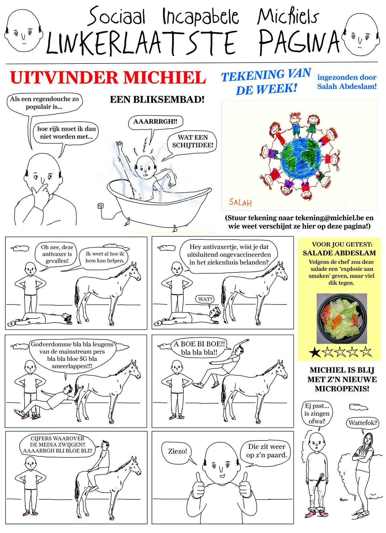 Sociaal Incapabele Michiel 37 Beeld Tom Borremans | Humo