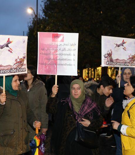 Nog vier verdachten grimmig protest in Rotterdam zitten vast: meerdere agenten gewond geraakt