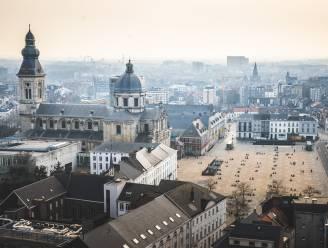 UNIEK Gent vanop de hoogste verdieping van de vernieuwde boekentoren