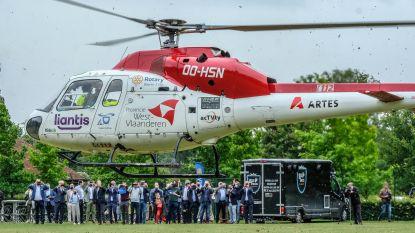 """Mughelikopter is gered voor de komende drie jaar: """"Wij redden tot 40 mensenlevens per jaar"""""""