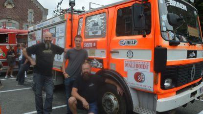 Brandweerwagen voor Tadzjikistan: Desert Lions krijgen 12.000 km in zes weken voor de kiezen