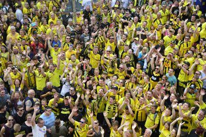 Dortmund verwelkomt meeste fans per thuiswedstrijd
