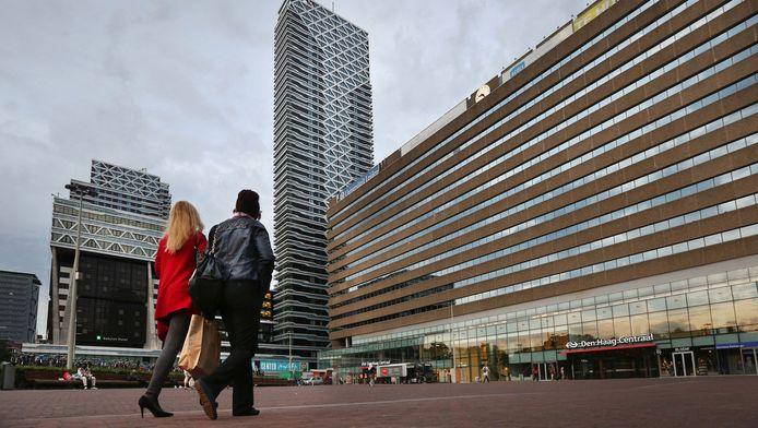 Het Koningin Julianaplein in Den Haag.