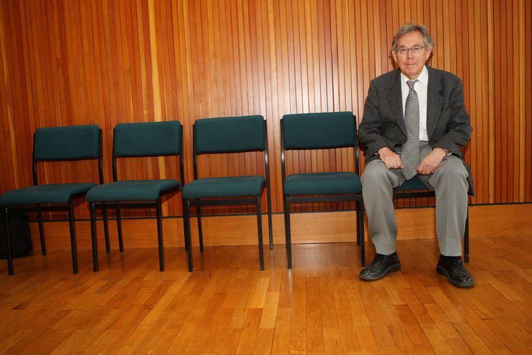 Paul Crutzen in 2008. Beeld Getty Images