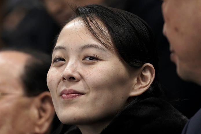 Kim Yo-jong, de zus van Kim Jong-un.