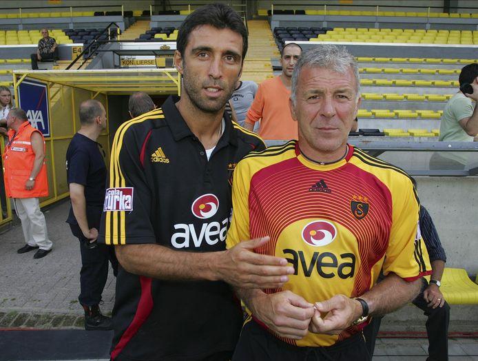 Avec Eric Gerets à Galatasaray (2006)